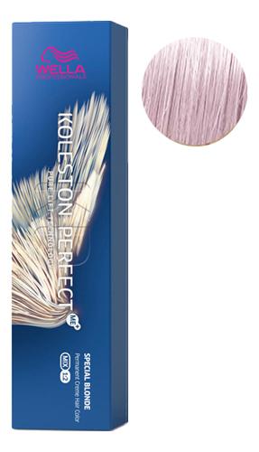 Стойкая крем-краска для волос Koleston Perfect Color Special Blonde 60мл: 12/61 Розовая карамель розовая краска матрикс