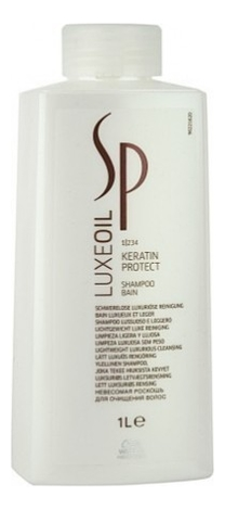 цена на Шампунь для защиты кератина волос SP LuxeOil Keratin Protect Shampoo: Шампунь 1000мл