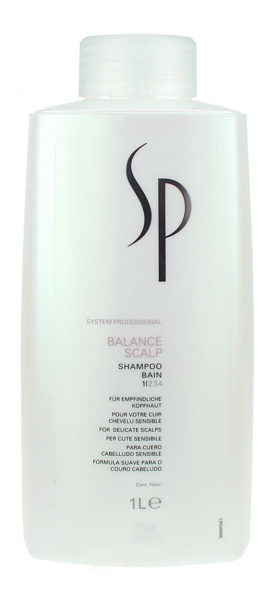 Купить Шампунь для чувствительной кожи головы SP Balance Scalp Shampoo: Шампунь 1000мл, Wella