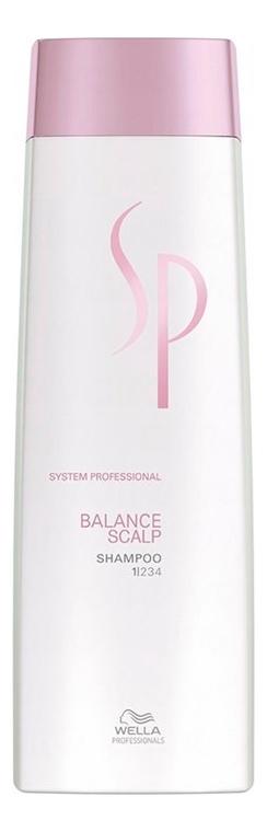 Купить Шампунь для чувствительной кожи головы SP Balance Scalp Shampoo: Шампунь 250мл, Wella