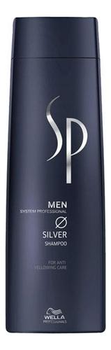 Шампунь для седых волос SP Men Silver Shampoo 250мл wella sp men silver shampoo шампунь с серебристым блеском 250 мл
