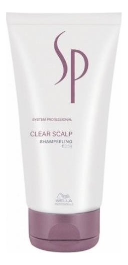 Шампунь-пилинг против перхоти SP Clear Scalp Shampeeling 150мл wella sp clear scalp shampoo шампунь против перхоти 250 мл