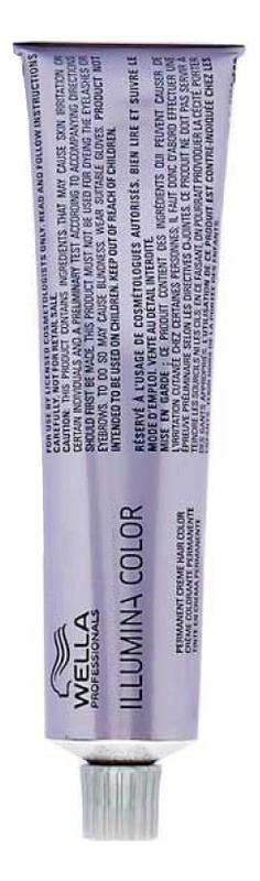 Стойкая крем-краска для волос Illumina Color 60мл: 6/16 Темный блонд пепельный фиолетовый wella кисточка illumina для окраски 6 см антрацит щетка large