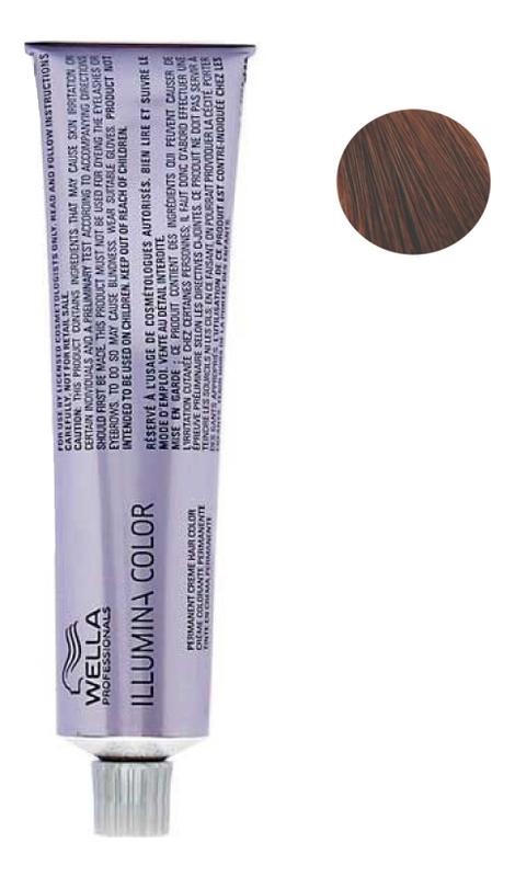 цена Стойкая крем-краска для волос Illumina Color 60мл: 5/43 Светло-коричневый красно-золотистый онлайн в 2017 году