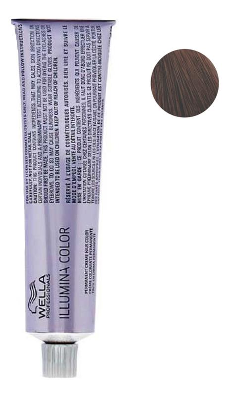 цена Стойкая крем-краска для волос Illumina Color 60мл: 5/35 Светло-коричневый золотисто-махагоновый онлайн в 2017 году