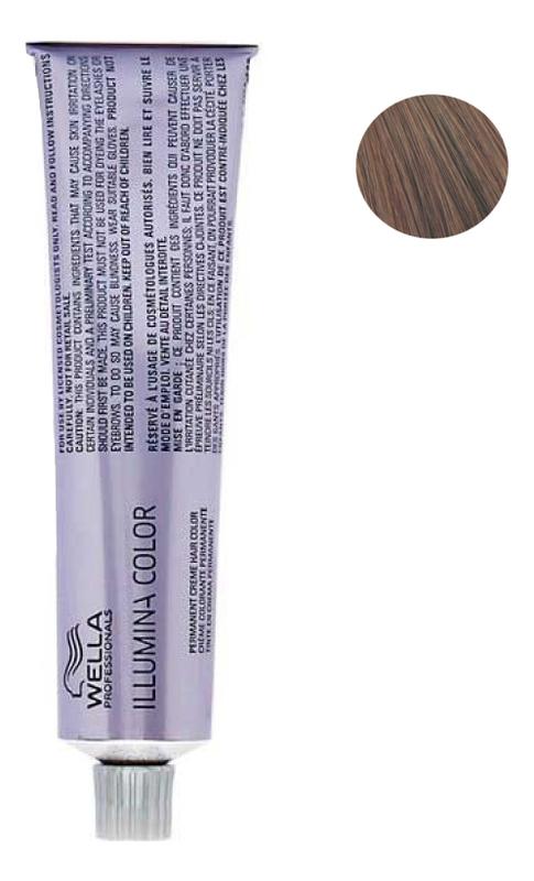 Стойкая крем-краска для волос Illumina Color 60мл: 7/35 Блонд золотисто-махагоновый фото