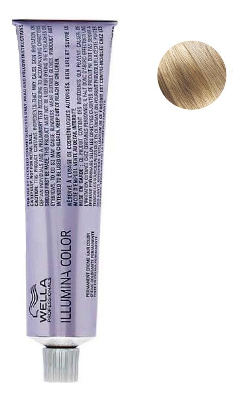 Купить Стойкая крем-краска для волос Illumina Color 60мл: 8/37 Светлый блонд золотисто-коричневый, Wella