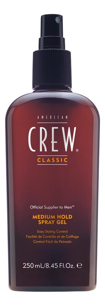 Купить Спрей-гель для волос Classic Medium Hold Spray Gel 250мл, American Crew