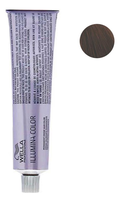 цена Стойкая крем-краска для волос Illumina Color 60мл: 5/7 Светло-коричневый коричневый онлайн в 2017 году