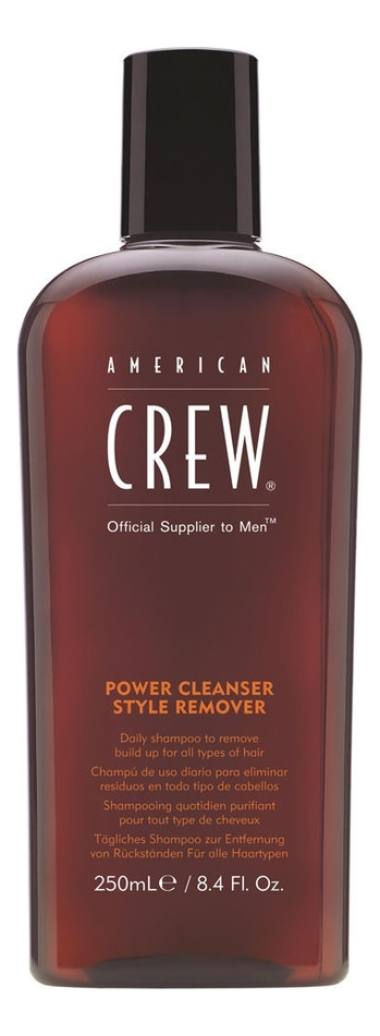 Шампунь очищающий волосы от укладочных средств Power Cleanser Style Remover: 250мл