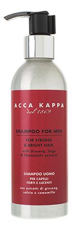 Купить Шампунь для волос 1869 Shampoo For Men 200мл, Acca Kappa