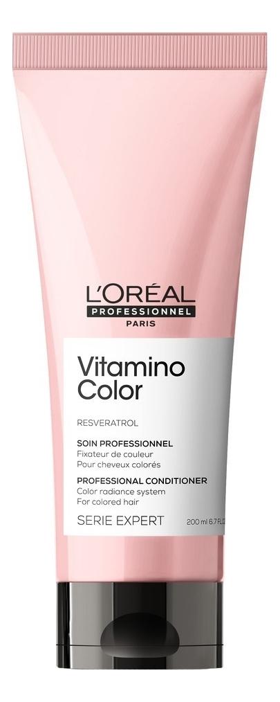 Кондиционер для защиты и сохранения цвета окрашенных волос Serie Expert Resveratro Vitamino Color A-OX Conditioner: Кондиционер 200мл ааша хербалс кондиционер для окрашенных волос 200мл