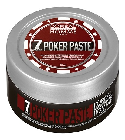 Купить Моделирующая паста Homme Poker Paste 75мл, L'oreal