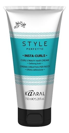 Крем для вьющихся волос формирования завитков Style Perfetto Insta-Curls Curly Wavy Hair 150мл