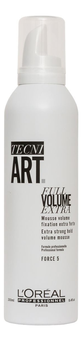 Мусс для объема нормальных и непослушных волос Tecni. Art Full Volume Extra: Мусс 250мл, L'oreal  - Купить