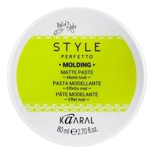 KAARAL Матовая паста для волос Style Perfetto Molding Matte Paste 80мл