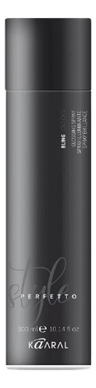 Спрей-защита от курчавости и для придания блеска Style Perfetto Bling Glossing Spray 300мл