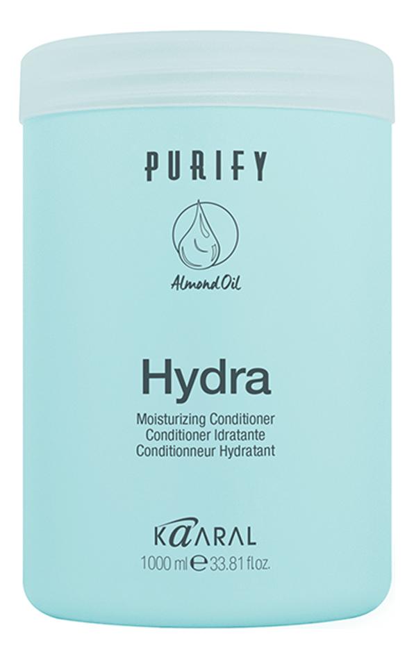 Увлажняющий кондиционер для сухих волос Purify Hydra Conditioner: Кондиционер 1000мл кондиционер для сухих волос kaaral purify hydra conditioner 250 мл увлажняющий