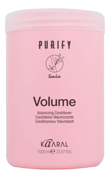 Кондиционер-объем для тонких волос Purify Volume Conditioner: Кондиционер 1000мл кондиционер для тонких волос alter ego italy кондиционер для тонких волос