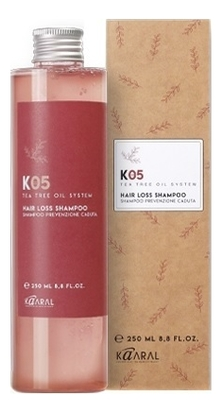 Фото - Шампунь против выпадения волос K05 Anti Hair Loss Shampoo: Шампунь 250мл шампунь против выпадения волос intragen anti hair loss шампунь 1000мл