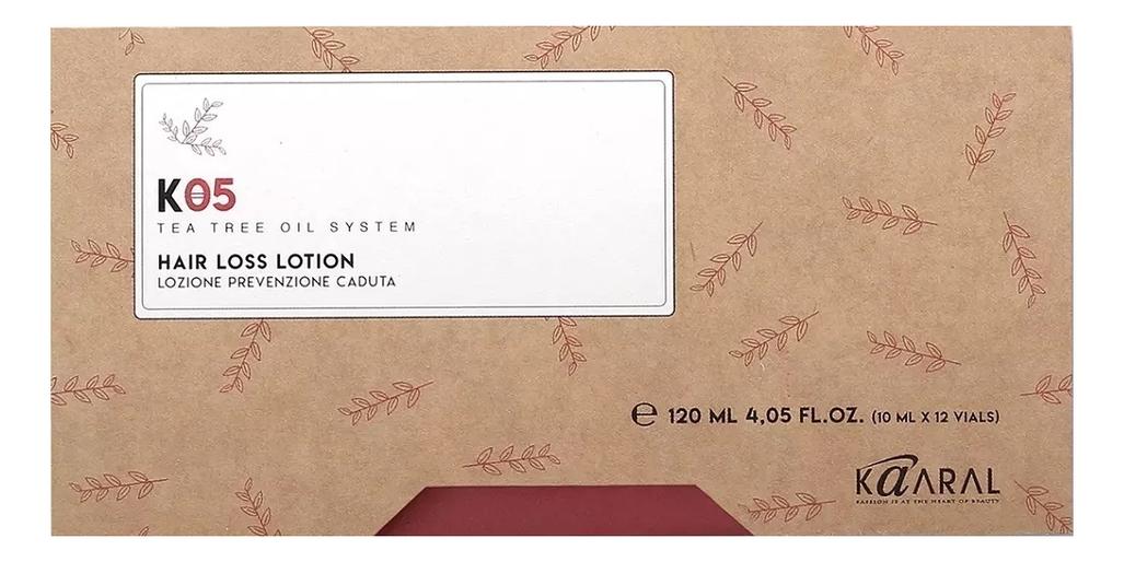 Лосьон против выпадения волос K05 Lozione Anticaduta 12*10мл ducray неоптид лосьон от выпадения волос для мужчин 100 мл
