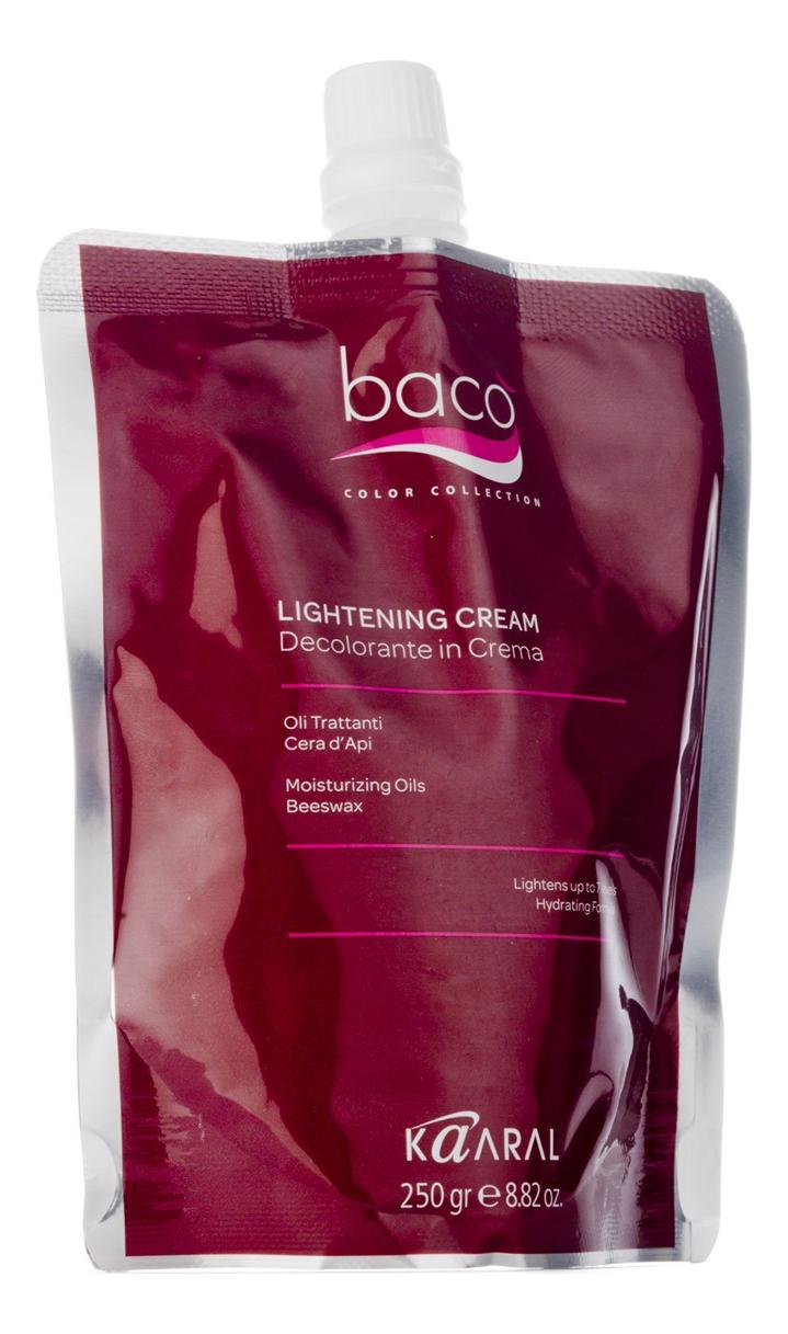 Осветляющий крем с натуральными минеральными маслами Baco Bleach Hair Cream 250г фото