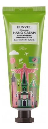 Крем для рук Green Tea Hand Cream Rio 50мл (зеленый чай) lipton ice tea зеленый холодный чай 1 л