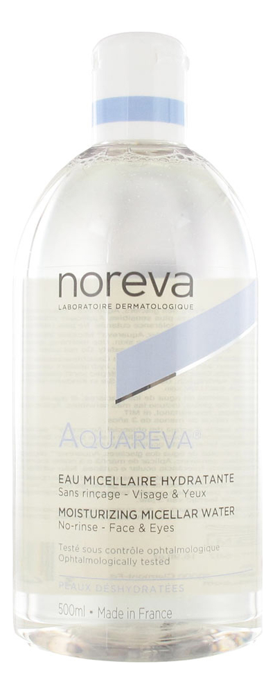 Увлажняющая мицеллярная вода для обезвоженной кожи Aquareva Moisturizing Micellar Water: Мицеллярная вода 500мл