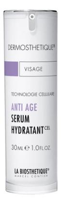 Клеточно-активная интенсивно увлажняющая сыворотка для лица Anti-Age Serum Hydratant 30мл anti age клеточно активная гель сыворотка интенсивного действия против морщин therapie anti rides 3х10 мл