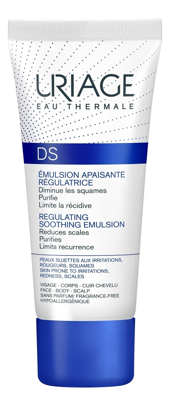 Купить Эмульсия для лица и тела DS Emulsion Apaisante Regulatrice 40мл, Uriage
