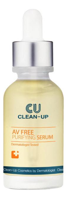 Сыворотка для проблемной кожи лица Clean-Up AV Free Purifying Serum: 30мл