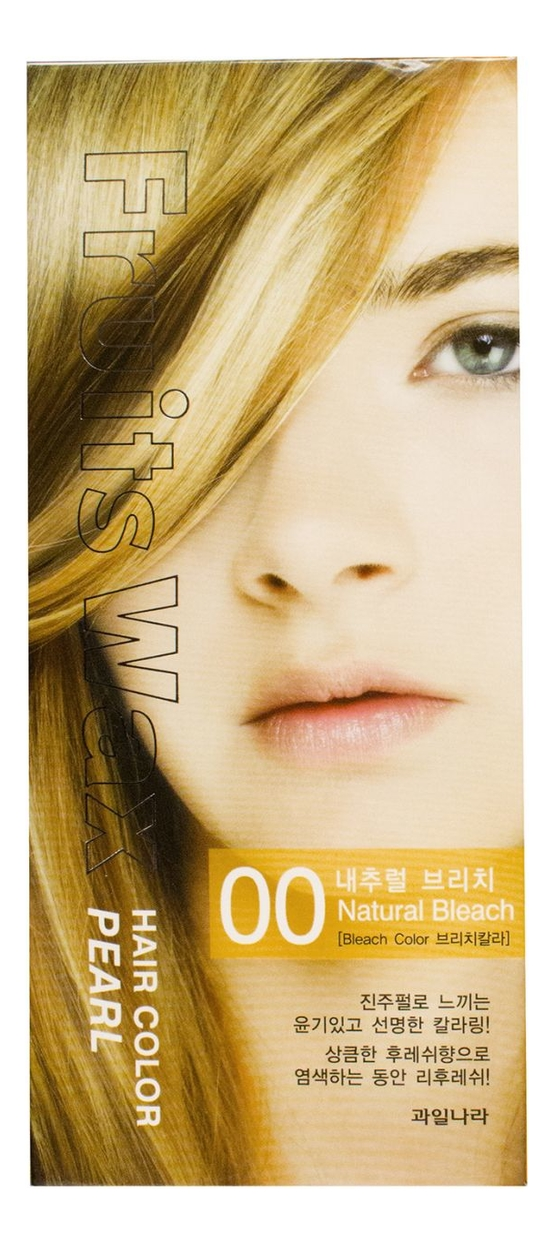 Краска для волос Fruits Wax Pearl Hair Color 60мл: No 00
