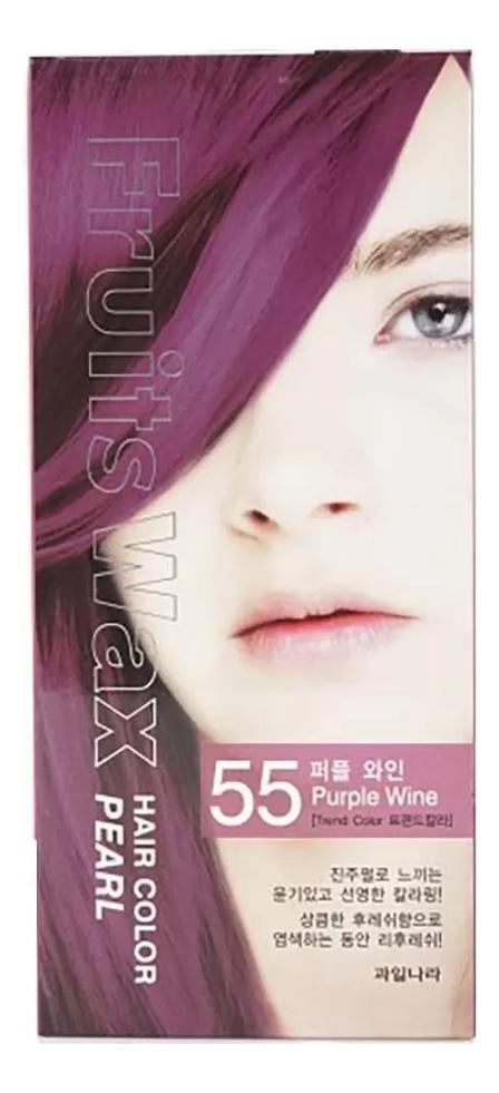Фото - Краска для волос Fruits Wax Pearl Hair Color 60мл: No 55 краска для волос fruits wax pearl hair color 60мл no 99