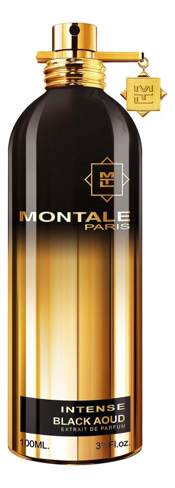 Фото - Montale Intense Black Aoud: парфюмерная вода 100мл montale ristretto intense cafe парфюмерная вода 100мл тестер