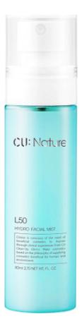 Мист для лица с аминокислотами и витаминами CU: Nature L50 Hydro Facial Mist 80мл