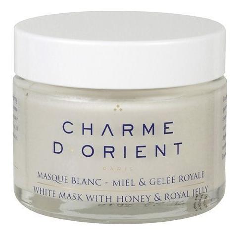 Белая маска на основе меда и маточного молочка для лица и тела Masque Blanc-Miel & Gelee Royale 75мл: Маска 75мл маска из меда для лица