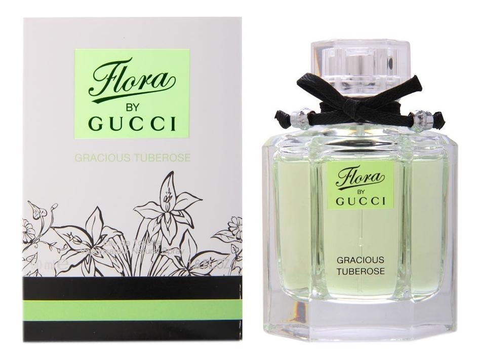 Купить Gucci Flora by Gucci Gracious Tuberose: туалетная вода 50мл