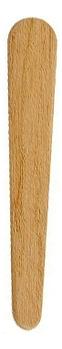цены Шпатель для воска треугольный деревянный 1шт