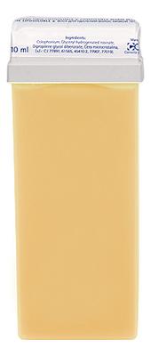 Теплый воск для депиляции в кассете Natural Wax 110мл (банановый)