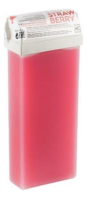 Теплый воск для депиляции в кассете Natural Strawberry 110мл (земляничный)