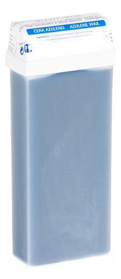Теплый воск для депиляции в кассете с азуленом Classic Azulene Wax 110мл (синий) azulene lotion