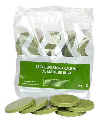 Горячий воск для депиляции в дисках с маслом оливы Al Aceite De Oliva 1000г