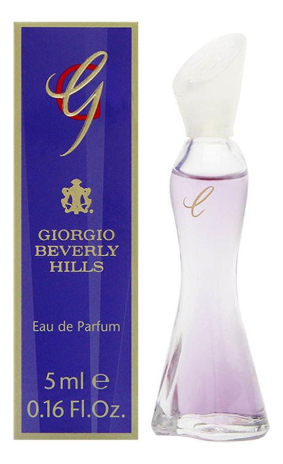 Купить G: парфюмерная вода 5мл, Beverly Hills