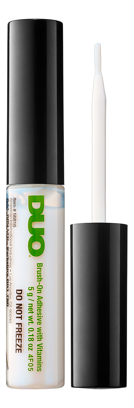Клей для накладных ресниц Brush On Adhesive 5г: Clear клей для накладных ресниц duo clear lash adhesive 7 мл