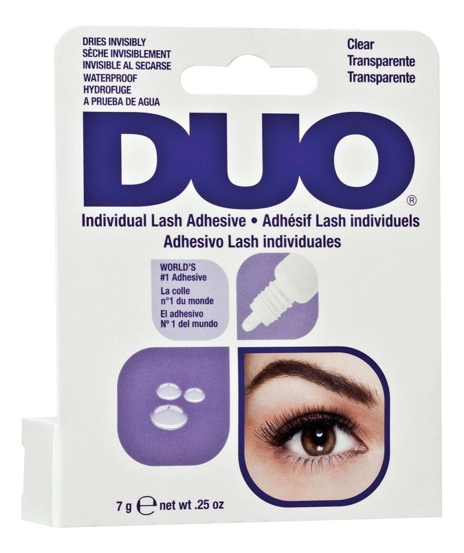 Клей для пучков Individual Lash Adhesive Clear 7г: