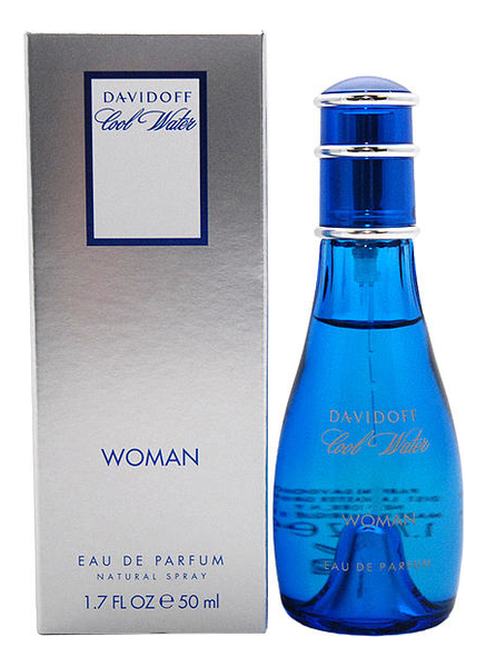 Купить Cool Water Woman: парфюмерная вода 50мл, Davidoff