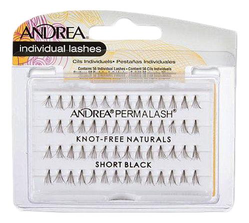цена на Накладные пучки ресниц безузелковые Permalash Naturals Flair: Medium Black