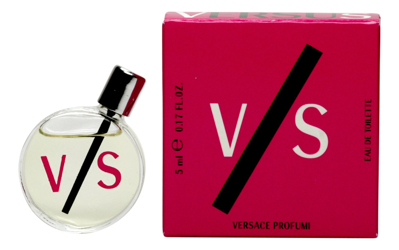 Versace V/S Versus Woman: туалетная вода 5мл