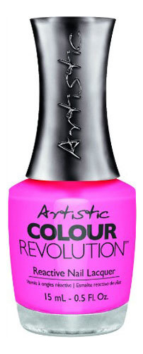 Недельный лак для ногтей Colour Revolution Reactive Nail Lacquer 15мл: 172 Devil Wears Nada лак artistic nail design color revolution nail lacquer 15 мл оттенок cheeky