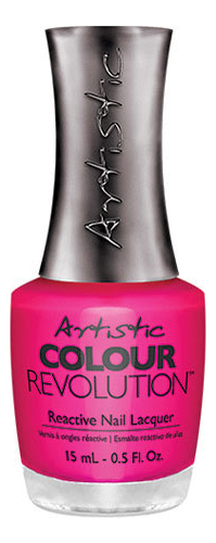 Недельный лак для ногтей Colour Revolution Reactive Nail Lacquer 15мл: 064 Manic лак artistic nail design color revolution nail lacquer 15 мл оттенок cheeky